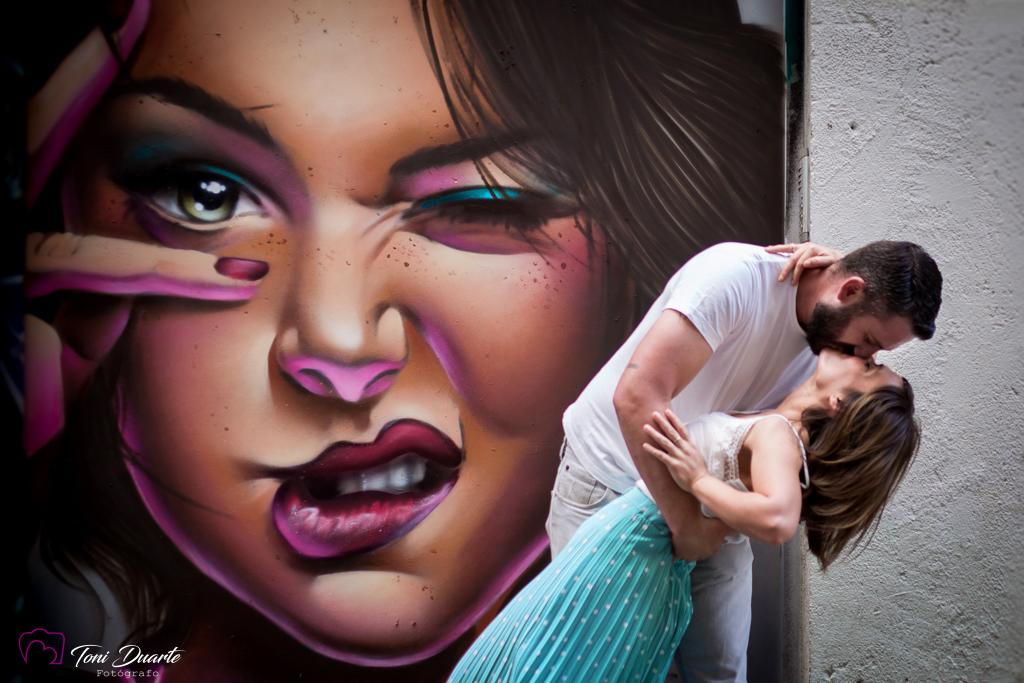 preboda con graffiti