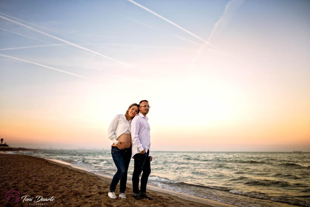 sesión embarazada en Valencia