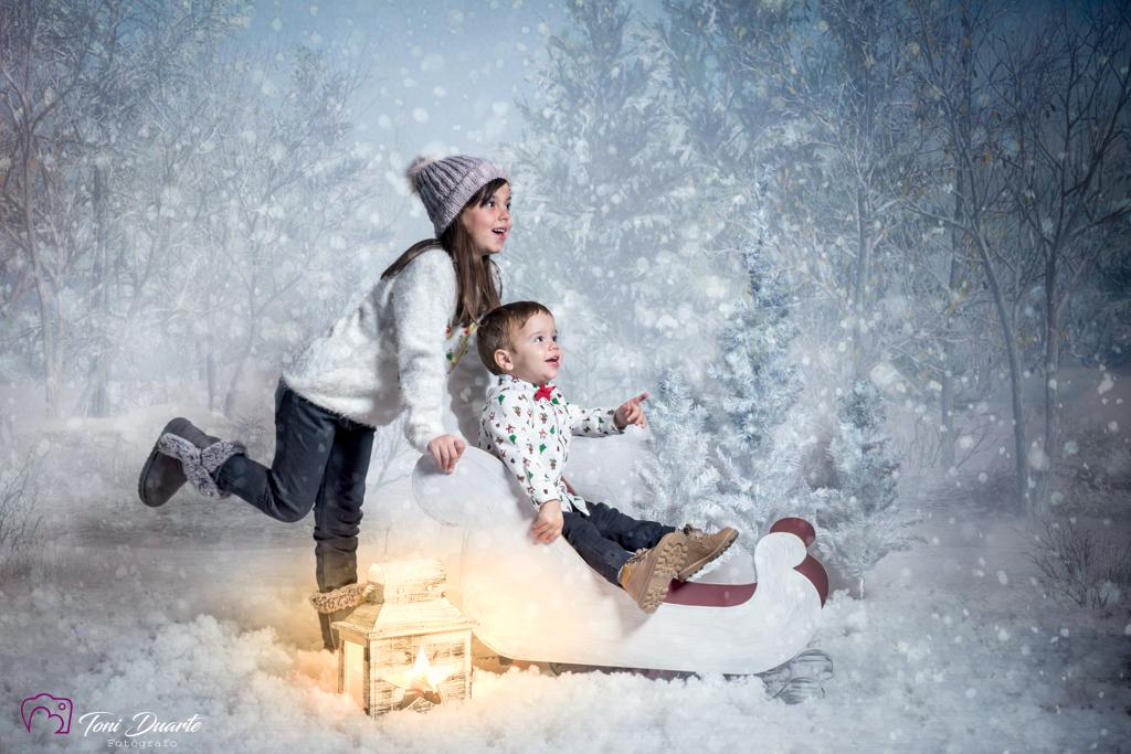 Sesion fotos de navidad