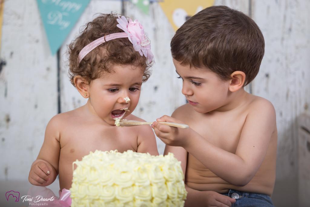 sesión Smash Cake en Valencia